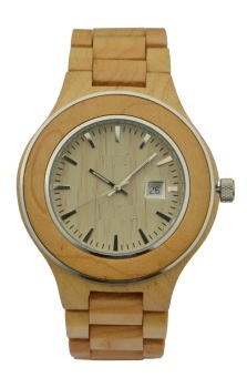 NYS-077 Maple Wood Watch