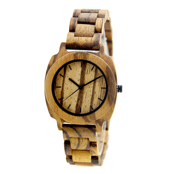 NYS-057 Zebra Wood Watch